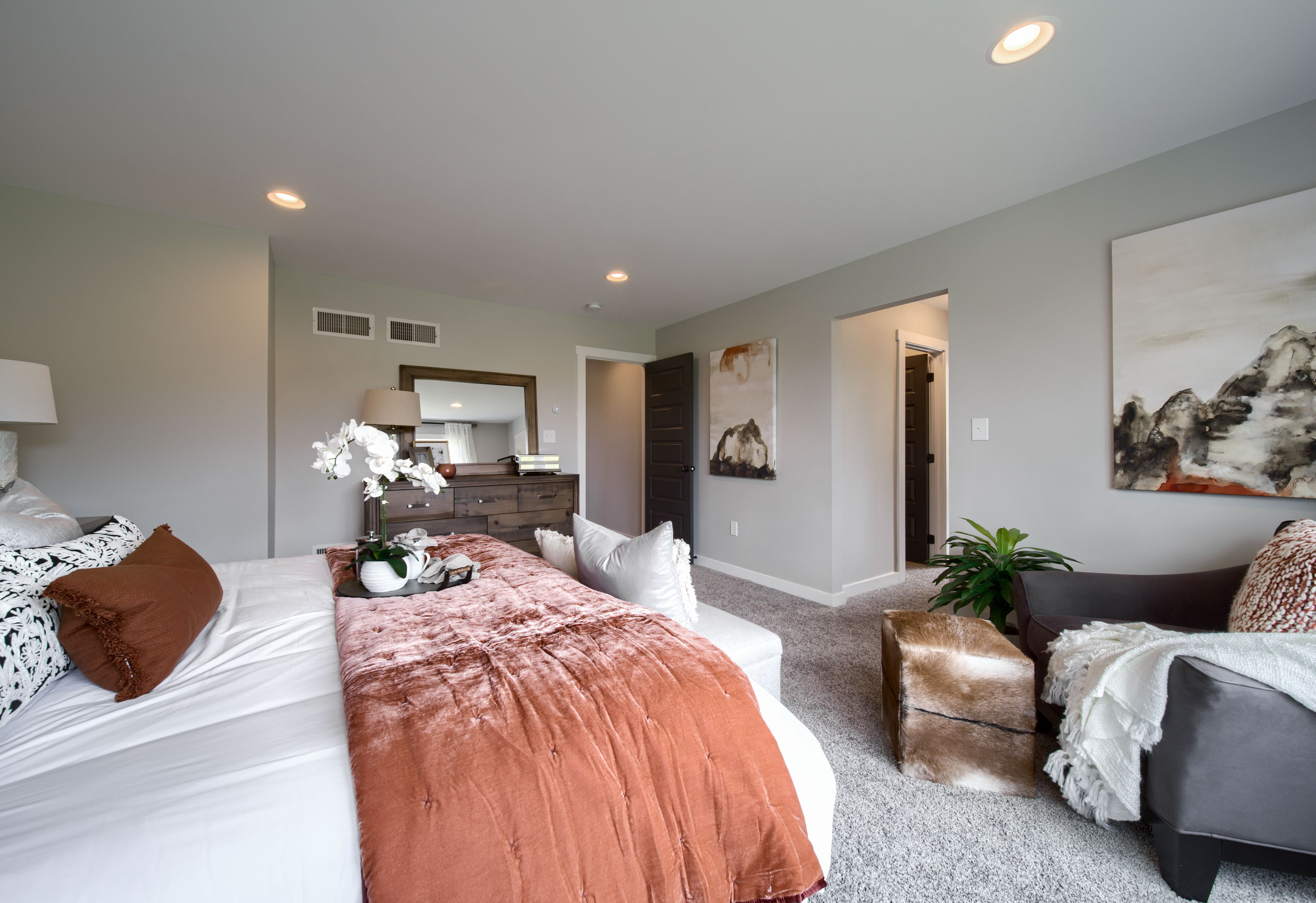 Bedroom featured in the Lachlan Heritage By Keystone Custom Homes in Philadelphia, PA