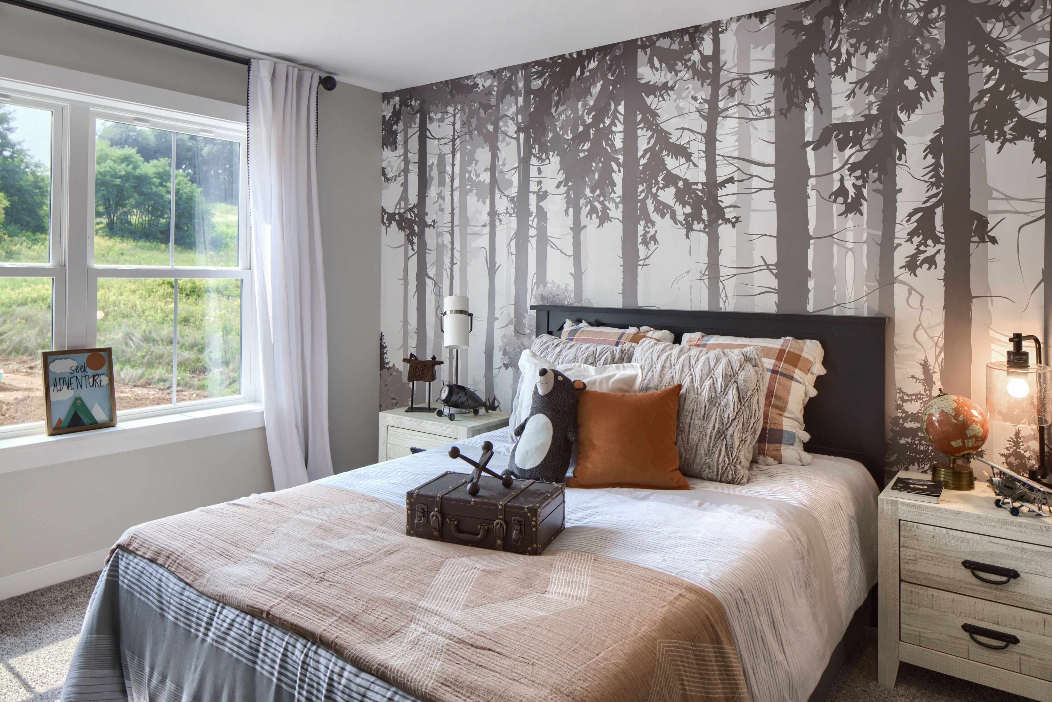 Bedroom featured in the Lachlan Farmhouse By Keystone Custom Homes in Wilmington-Newark, MD
