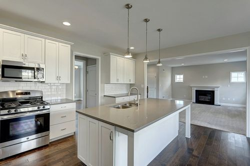 Kitchen-in-Parker Traditional-at-Castle Farms-in-Hampstead