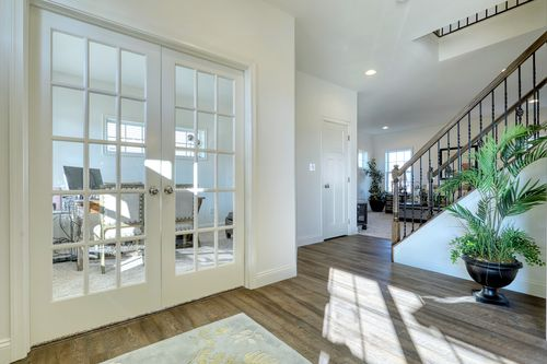 Study-in-Parker Traditional-at-Hampton Heath-in-Landisville