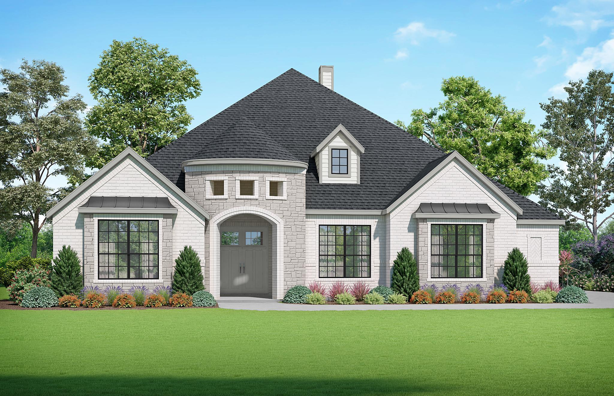 Exterior featured in the Summerlin By Kindred Homes in San Antonio, TX