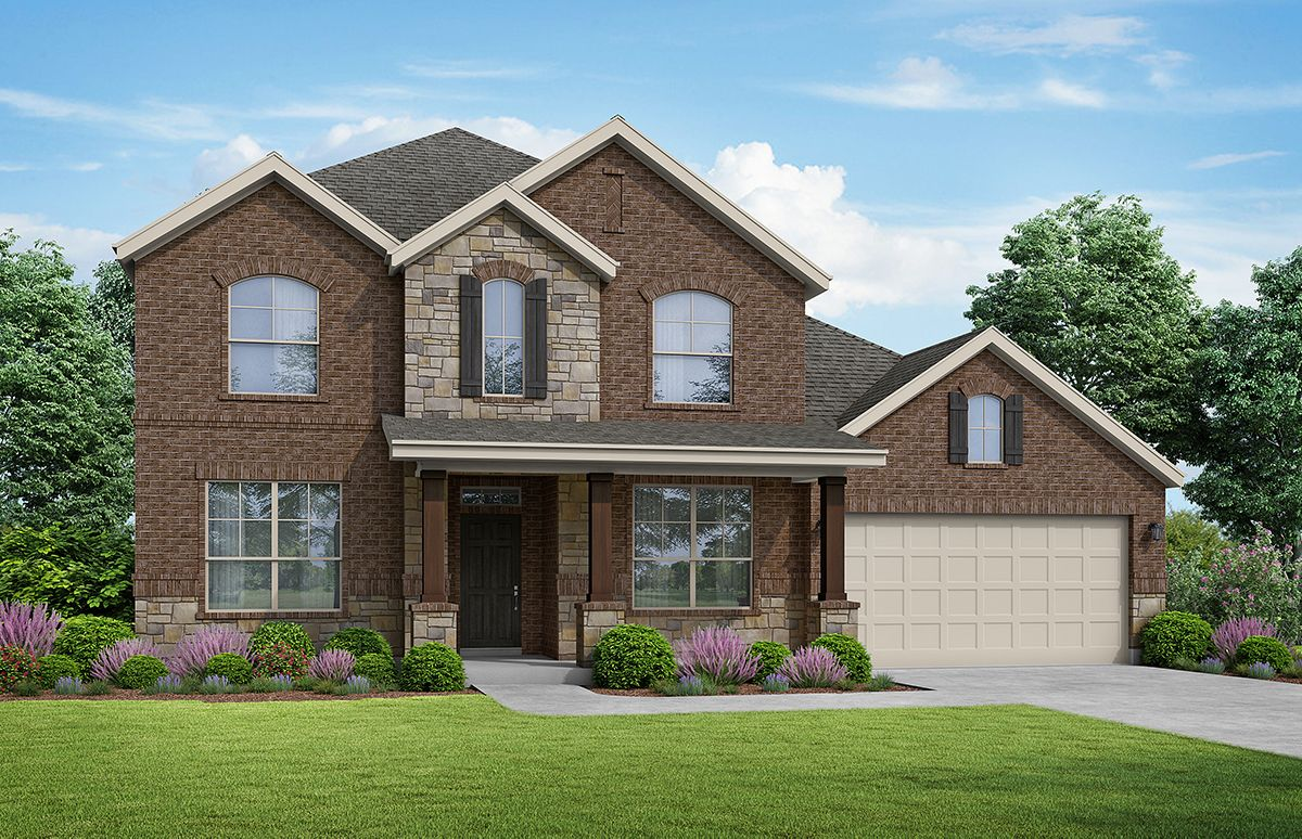 Exterior featured in the Willow By Kindred Homes in San Antonio, TX
