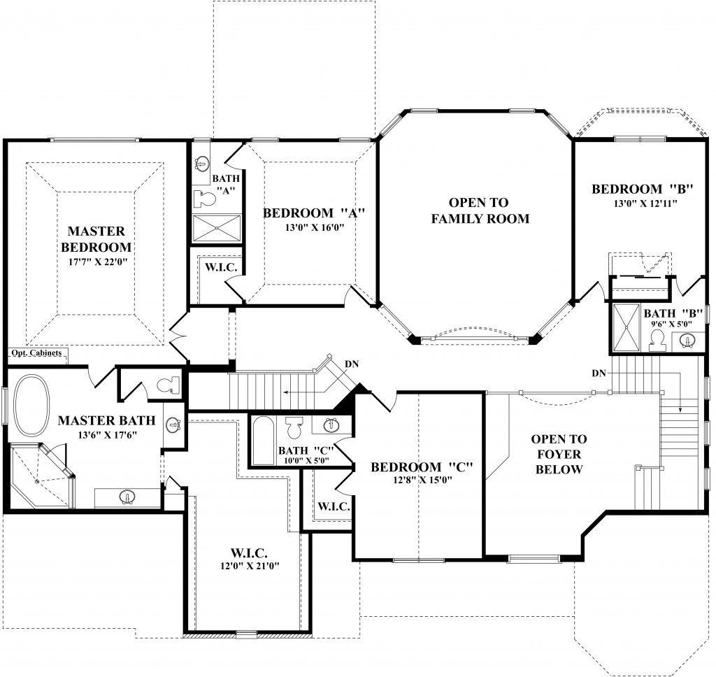 Henley Homes Floor Plans | Henley Plan Naperville Illinois 60564 Henley Plan At Ashwood