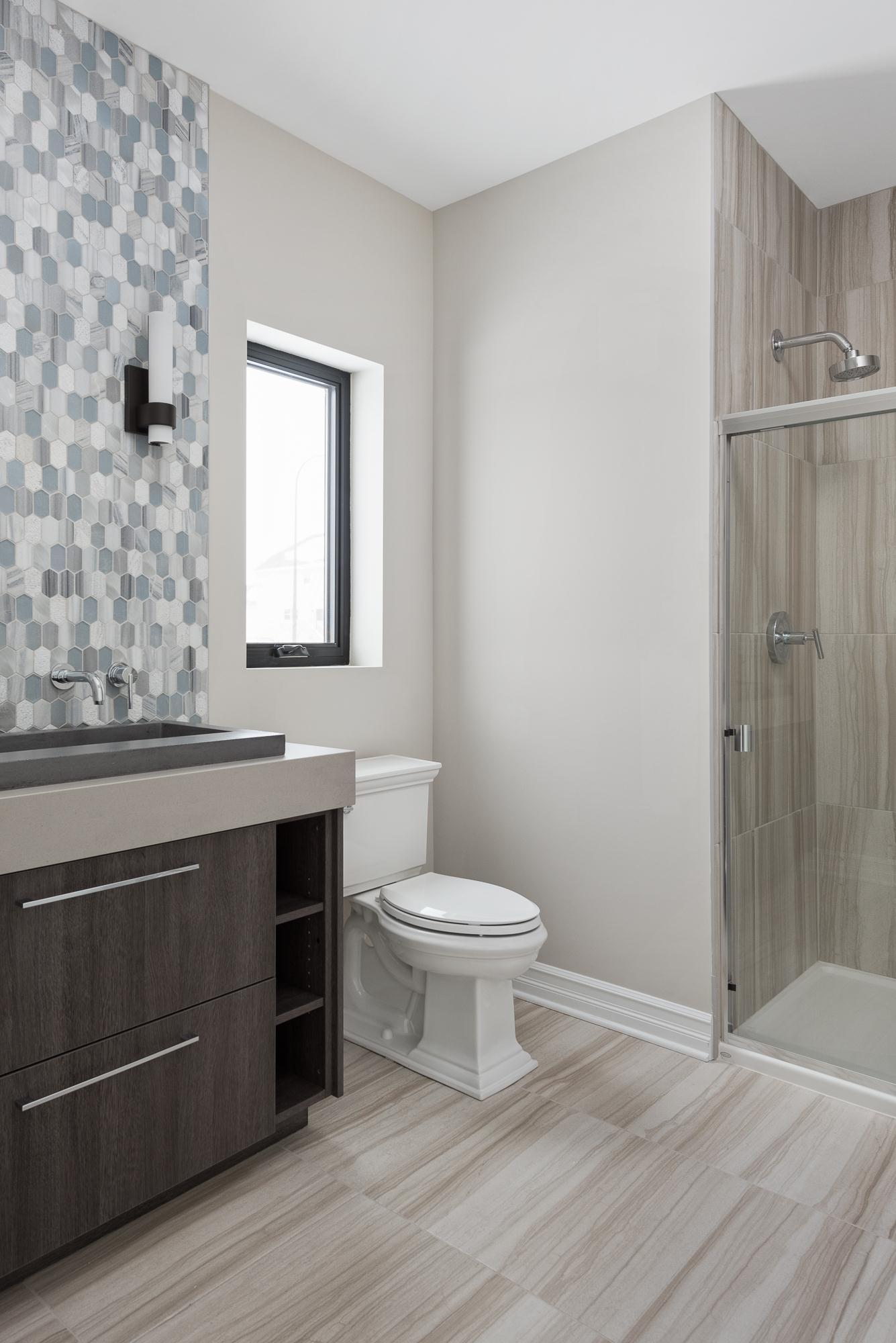 Bathroom featured in the Linden By King's Court Builders in Chicago, IL