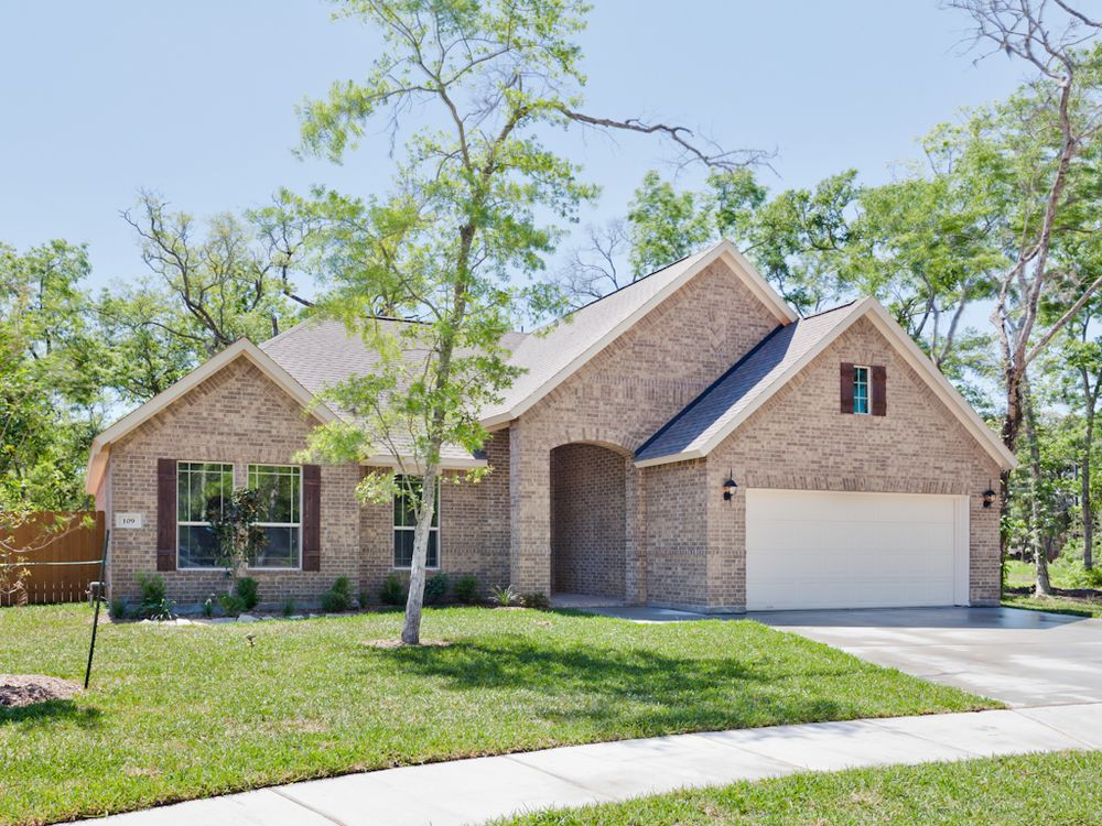 The Marie Home Plan By Kinsmen Homes In Houston Area Build