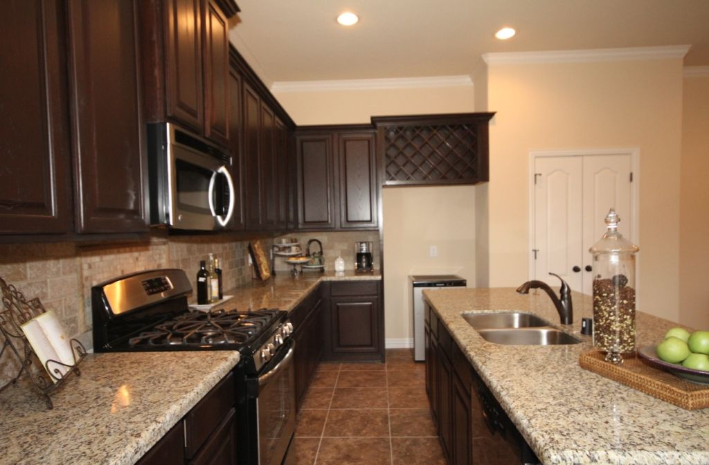 Kitchen featured in The Meagan By Kinsmen Homes  in Beaumont, TX