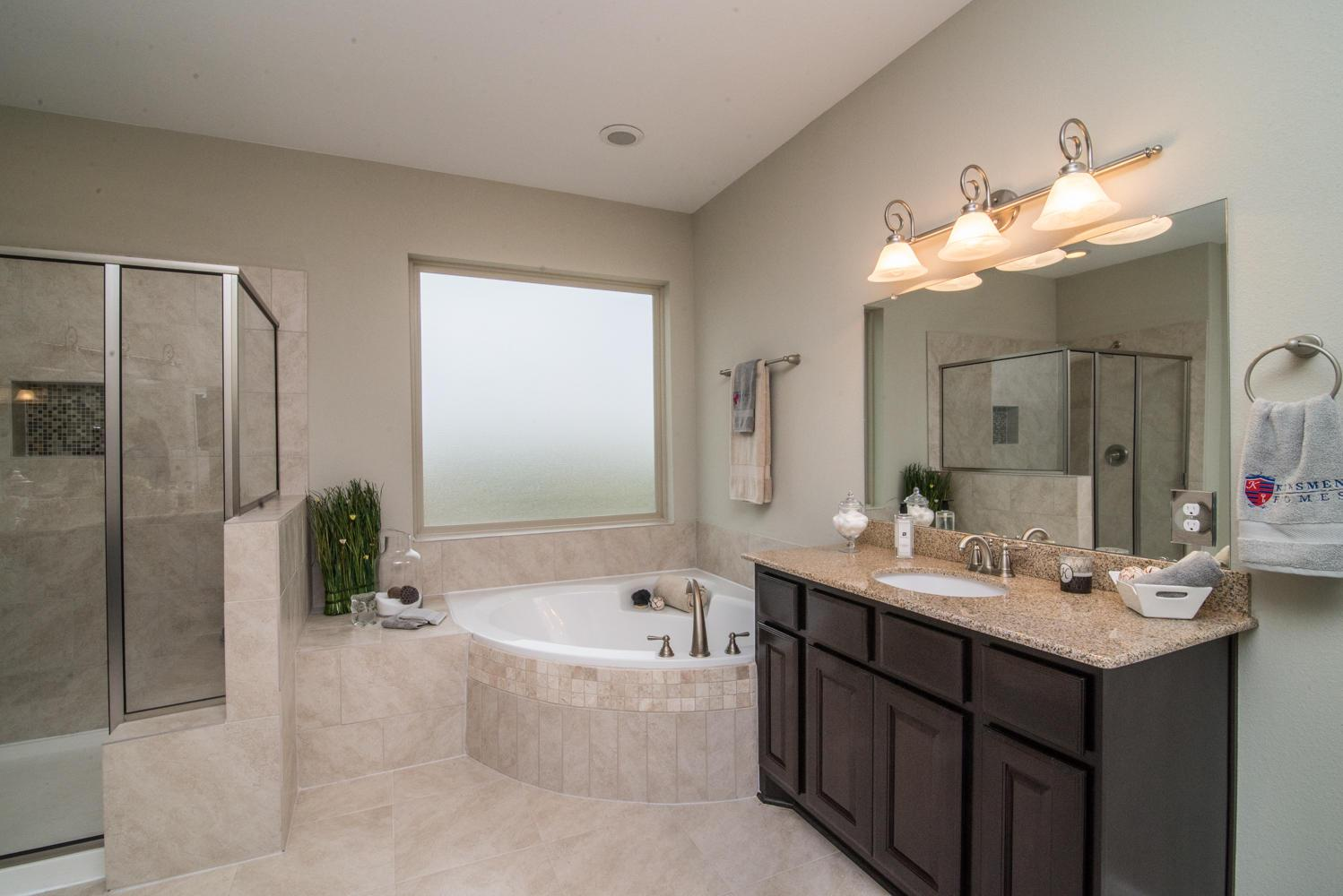Bathroom featured in The Jennifer By Kinsmen Homes  in Beaumont, TX