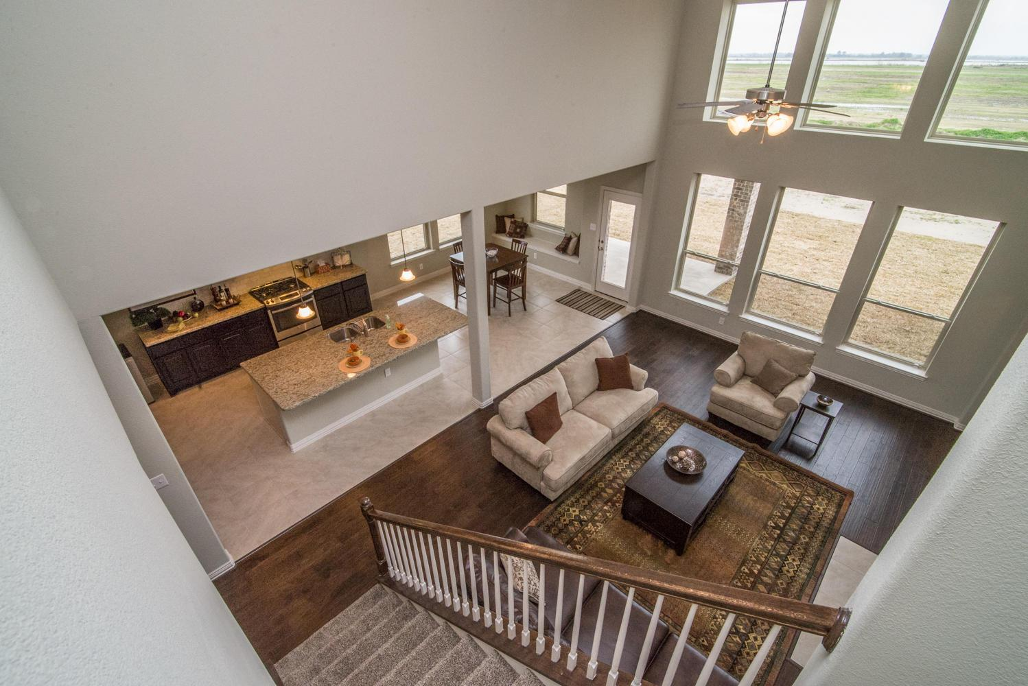 Living Area featured in The Jennifer By Kinsmen Homes  in Beaumont, TX
