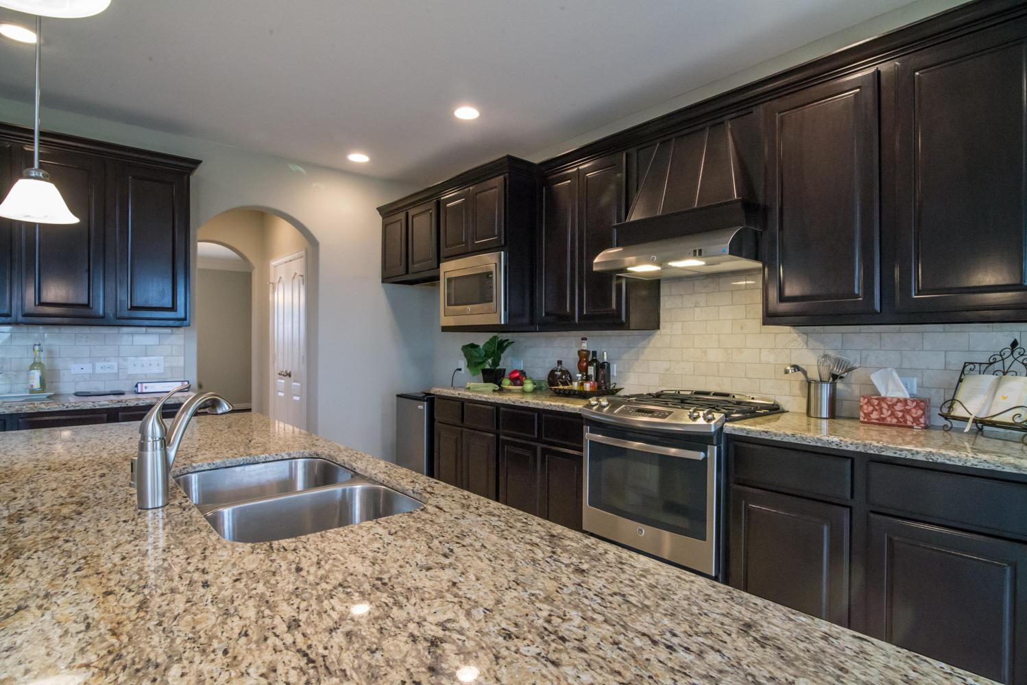 Kitchen featured in The Jennifer By Kinsmen Homes  in Beaumont, TX