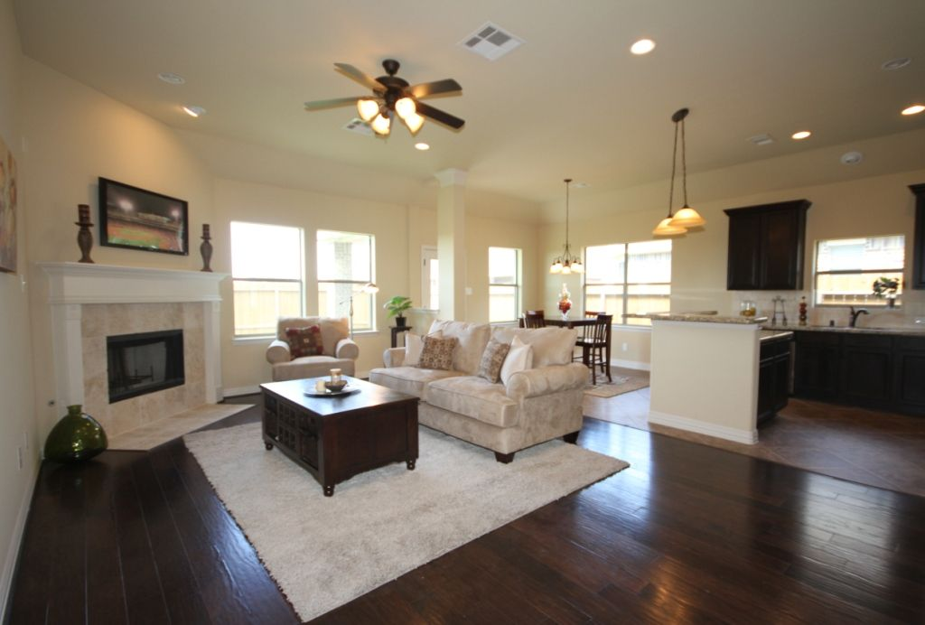 Living Area featured in The Lorraine By Kinsmen Homes  in Beaumont, TX