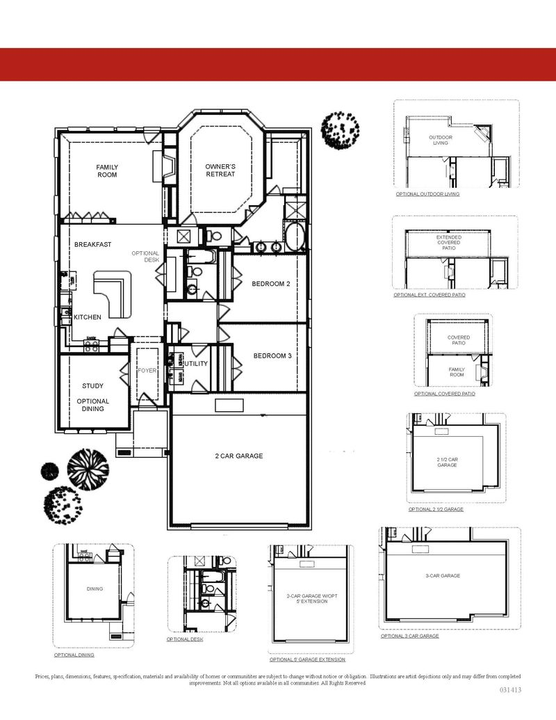 Floorplan & Options