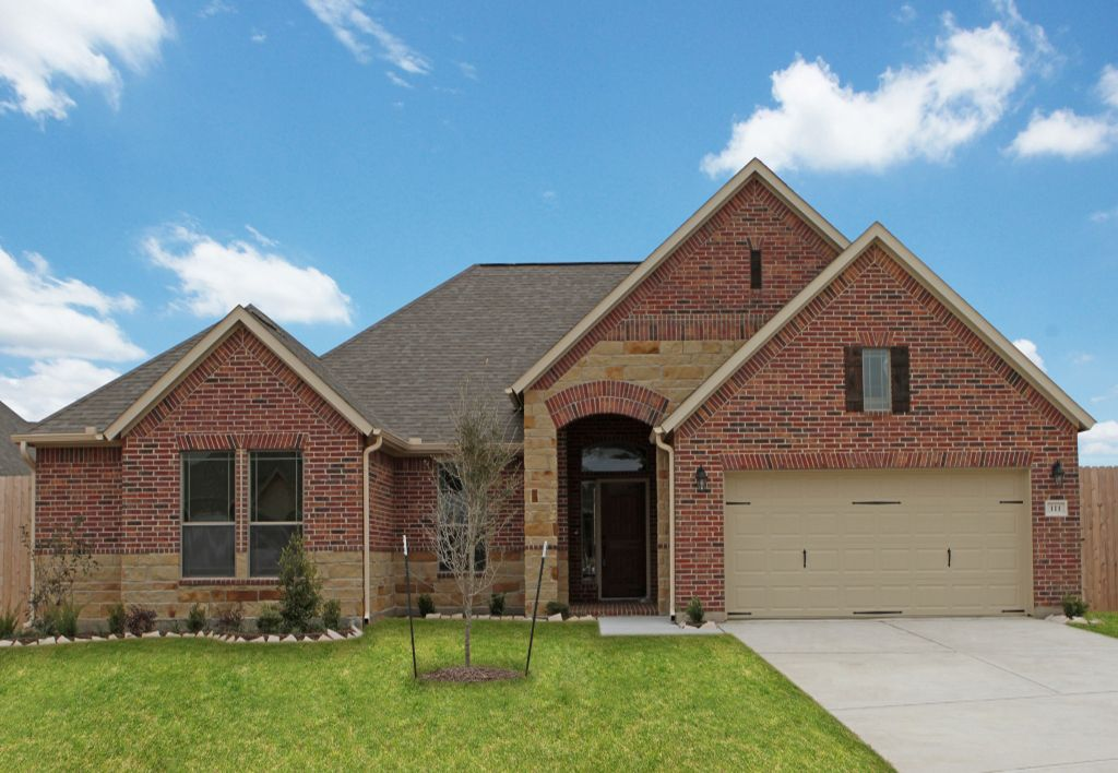 Exterior featured in The Marie By Kinsmen Homes  in Beaumont, TX