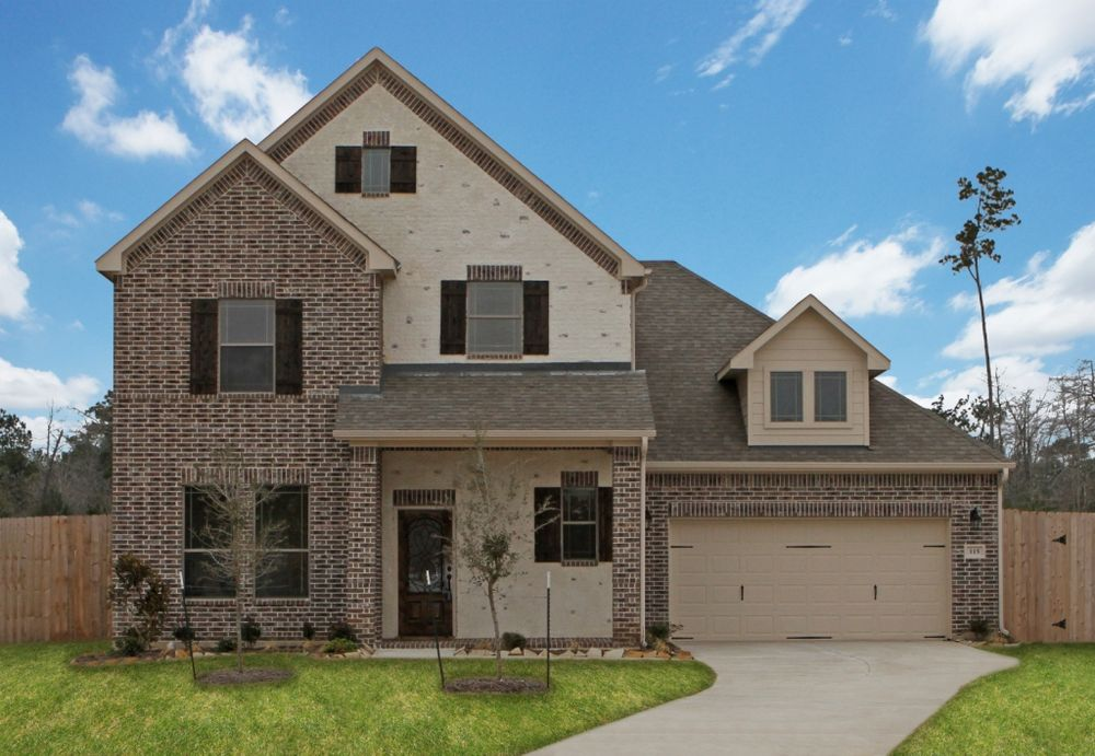The Meagan Home Plan By Kinsmen Homes In Houston Area