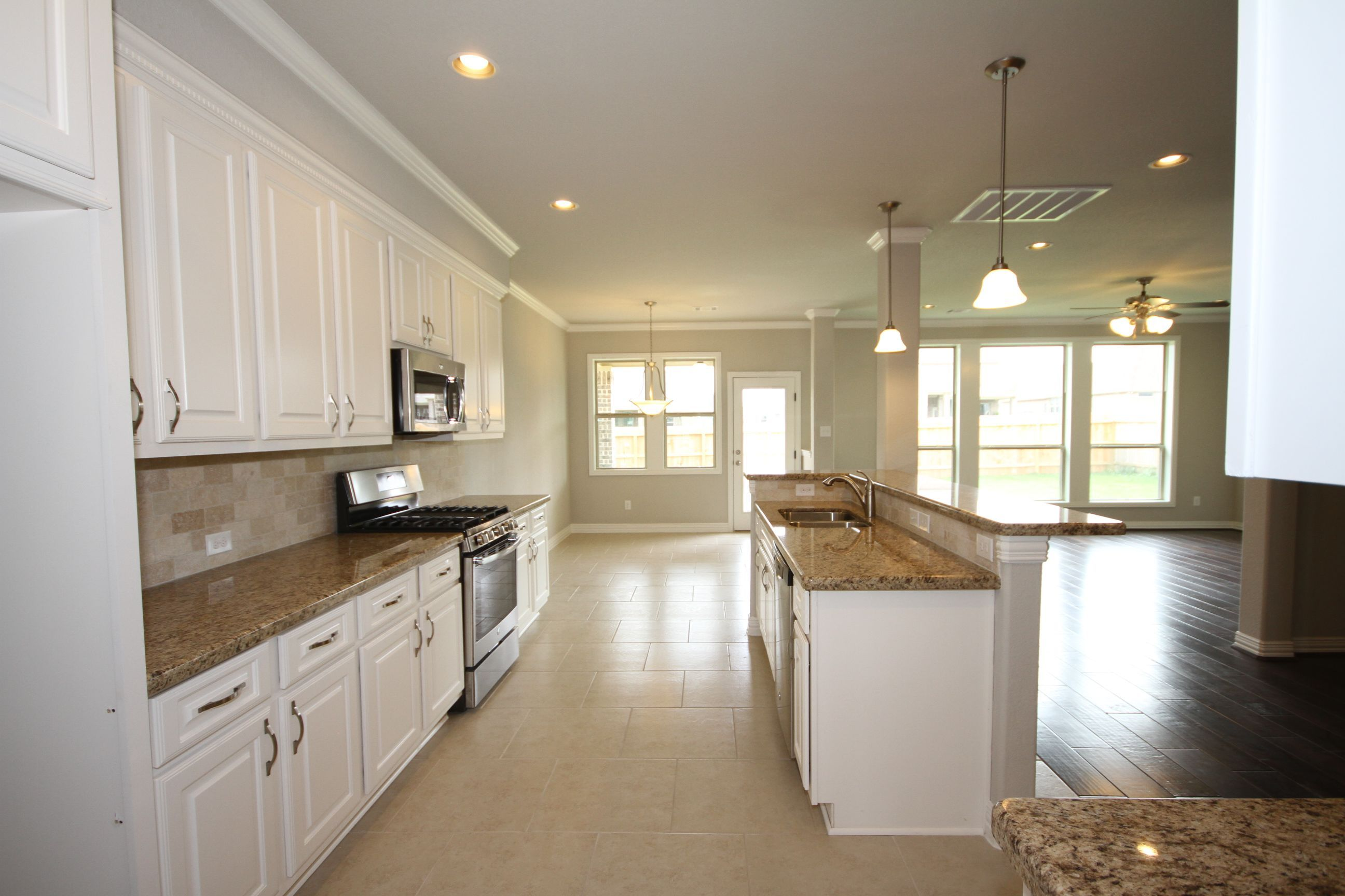 Kitchen featured in The Kinley By Kinsmen Homes  in Beaumont, TX