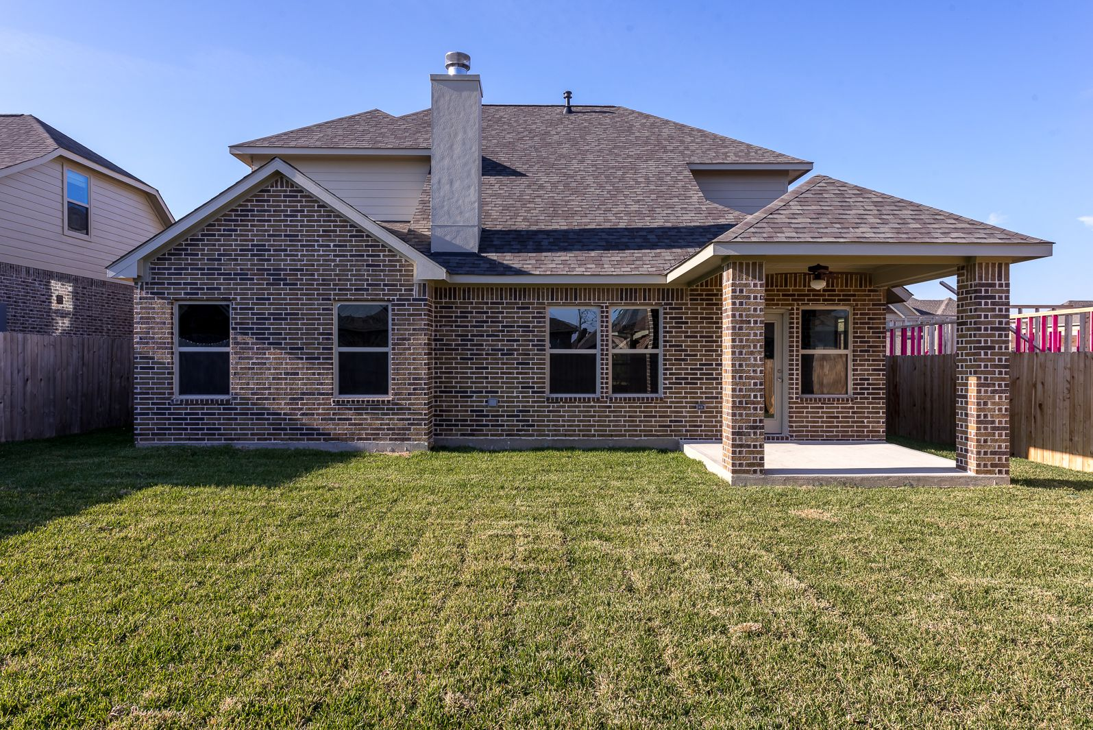 Exterior featured in The Riley By Kinsmen Homes  in Beaumont, TX