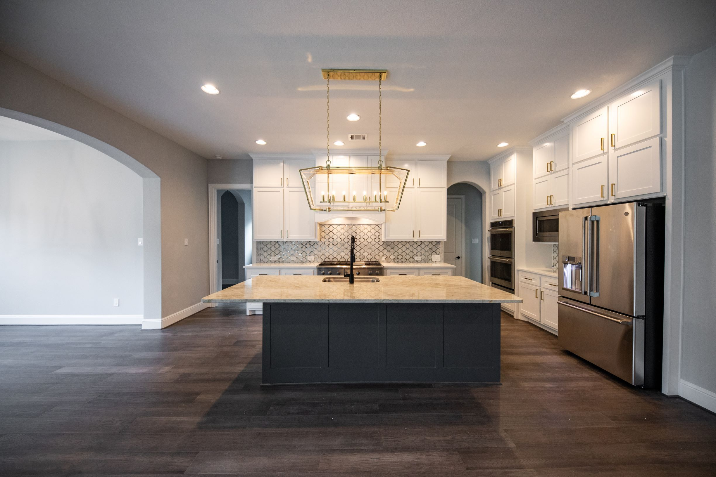 Kitchen featured in The Jamie By Kinsmen Homes  in Beaumont, TX