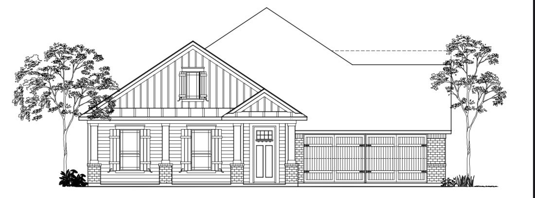 Exterior featured in The Isabelle By Kinsmen Homes  in Beaumont, TX