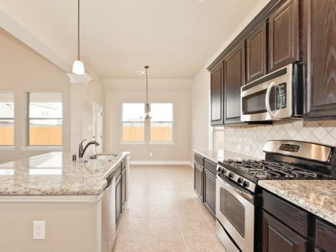 Kitchen-in-The Ashley-at-Bryan, College Station Area Build On Your Lot-in-College Station