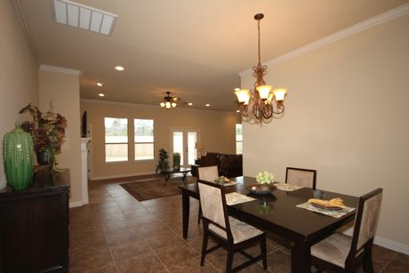 Dining-in-The Meagan-at-Beaumont Area Build On Your Lot-in-Beaumont