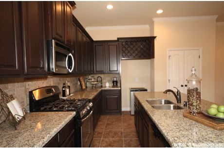Kitchen-in-The Meagan-at-Beaumont Area Build On Your Lot-in-Beaumont