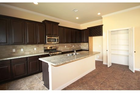 Kitchen-in-The Meagan-at-Castlegate II-in-College Station