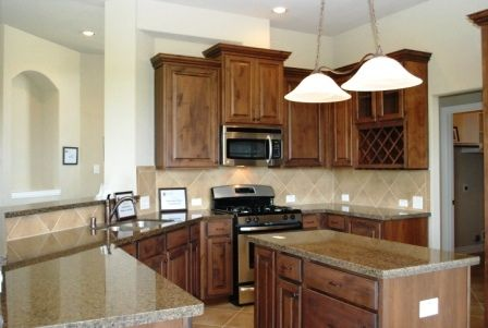 Kitchen-in-The Elizabeth-at-Beaumont Area Build On Your Lot-in-Beaumont
