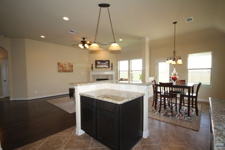 Kitchen-in-The Lorraine-at-Beaumont Area Build On Your Lot-in-Beaumont