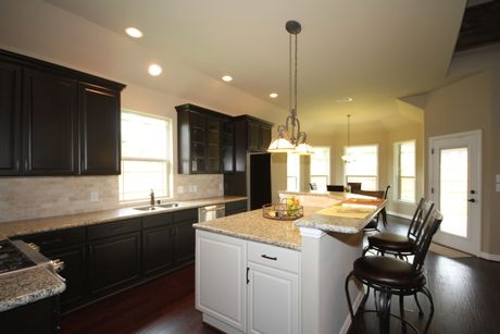 Kitchen-in-The Shea-at-Beaumont Area Build On Your Lot-in-Beaumont