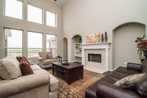Greatroom-in-The Jennifer-at-Bryan, College Station Area Build On Your Lot-in-College Station