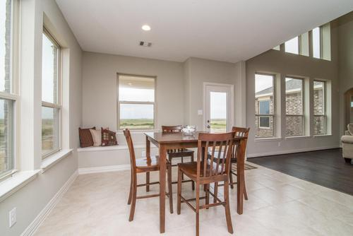 Dining-in-The Jennifer-at-Bryan, College Station Area Build On Your Lot-in-College Station