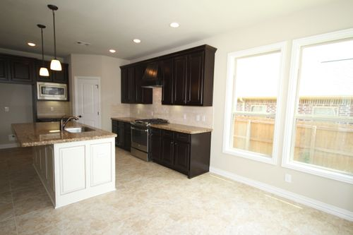Kitchen-in-The Rebecca-at-Bryan, College Station Area Build On Your Lot-in-College Station