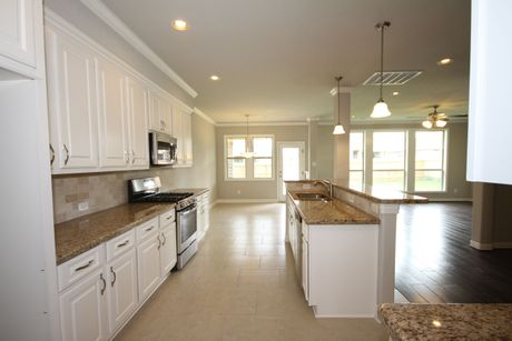 Kitchen-in-The Kinley-at-Beaumont Area Build On Your Lot-in-Beaumont
