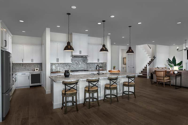 Kitchen featured in the Newport Residence 3 By Kiper Homes in Stockton-Lodi, CA