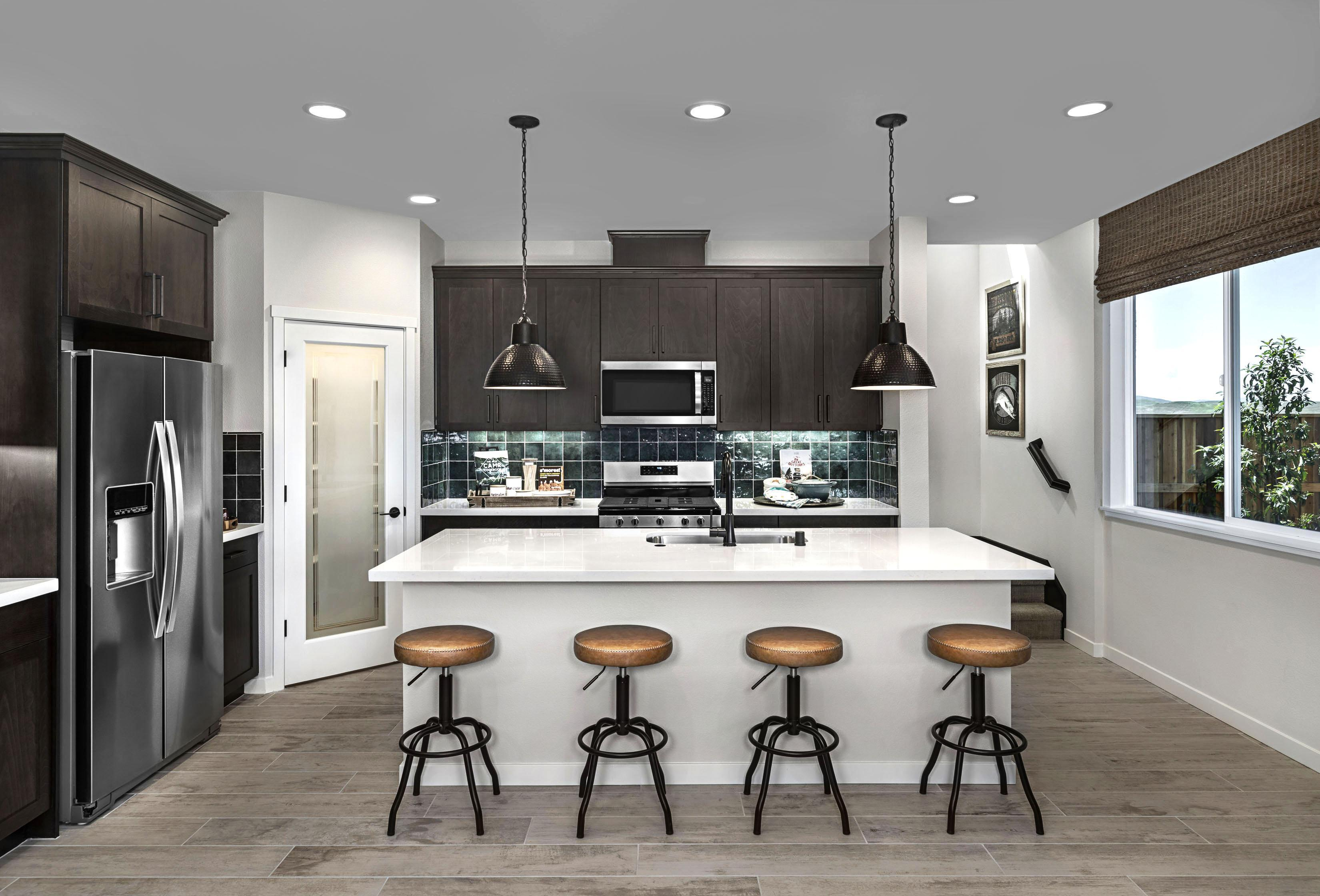 Kitchen featured in the Carousel Residence 2 By Kiper Homes in Santa Cruz, CA