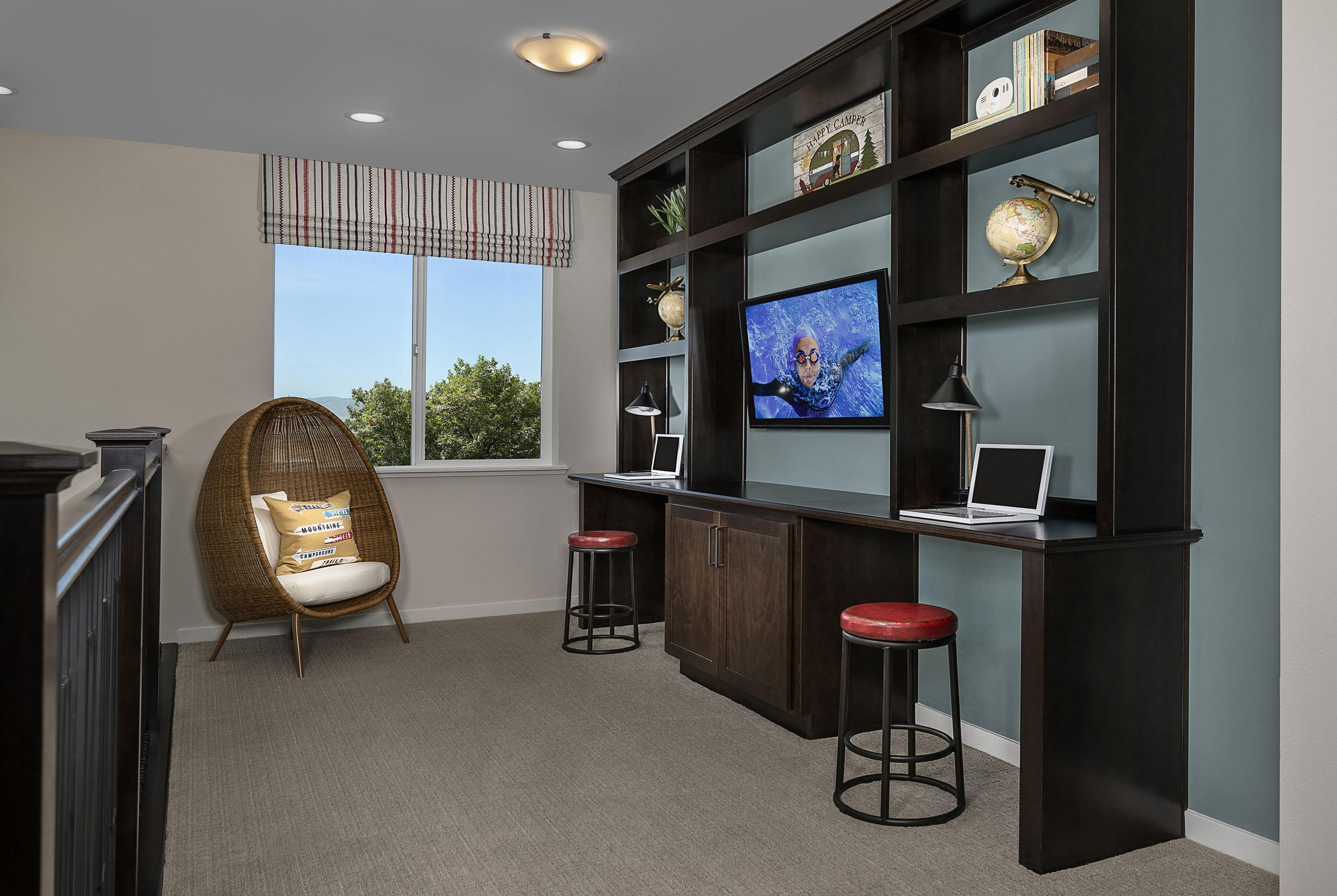 Living Area featured in the Carousel Residence 2 By Kiper Homes in Santa Cruz, CA
