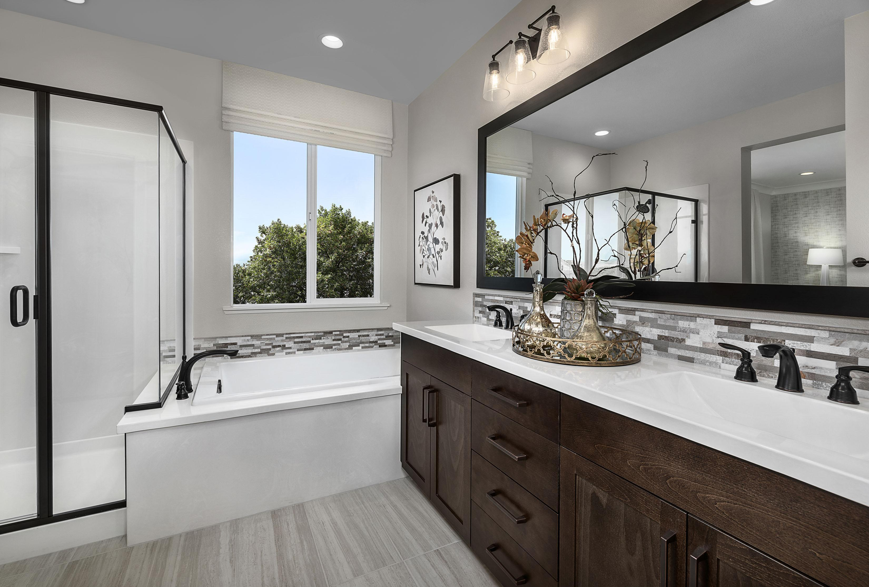Bathroom featured in the Carousel Residence 2 By Kiper Homes in Santa Cruz, CA