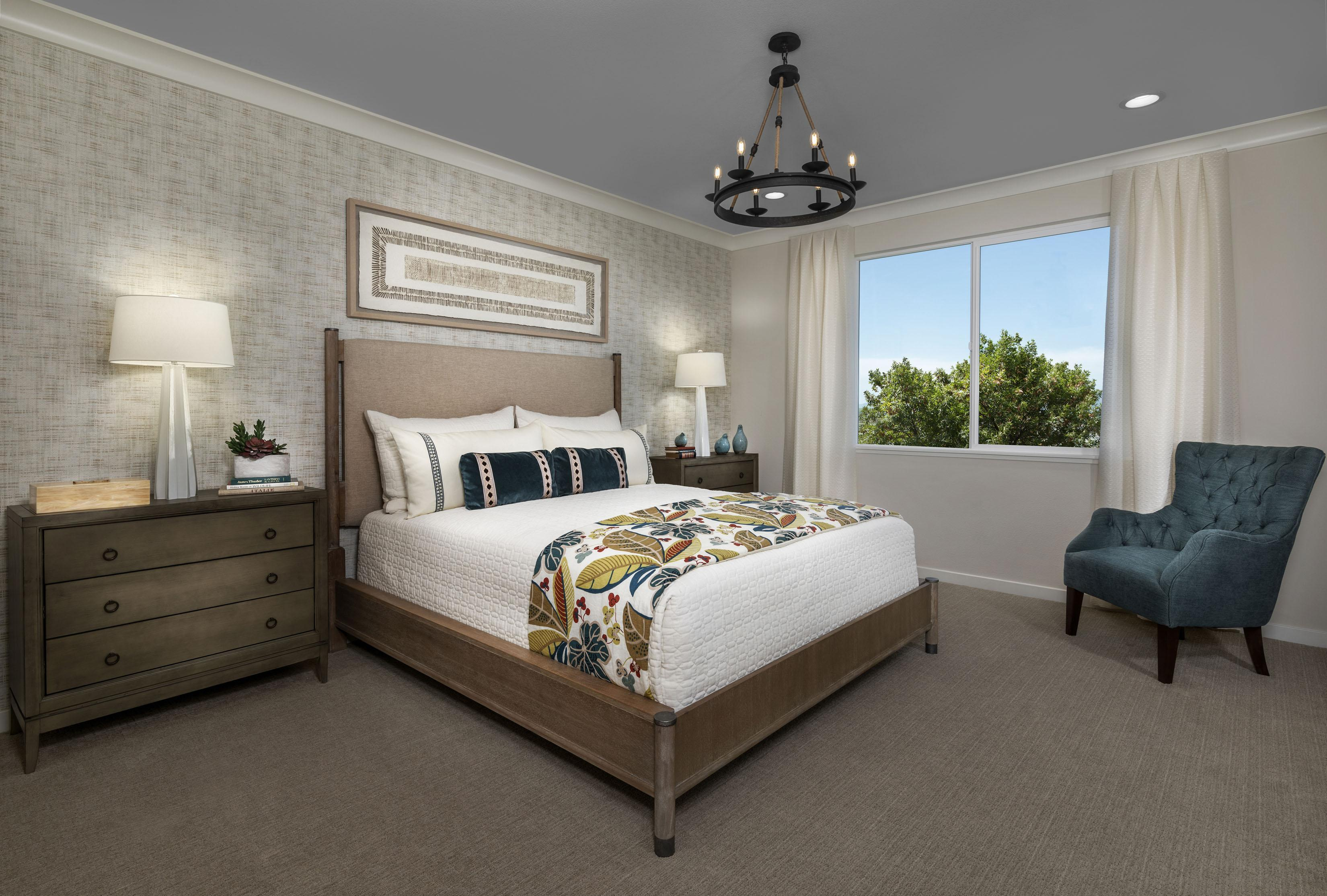 Bedroom featured in the Carousel Residence 2 By Kiper Homes in Santa Cruz, CA