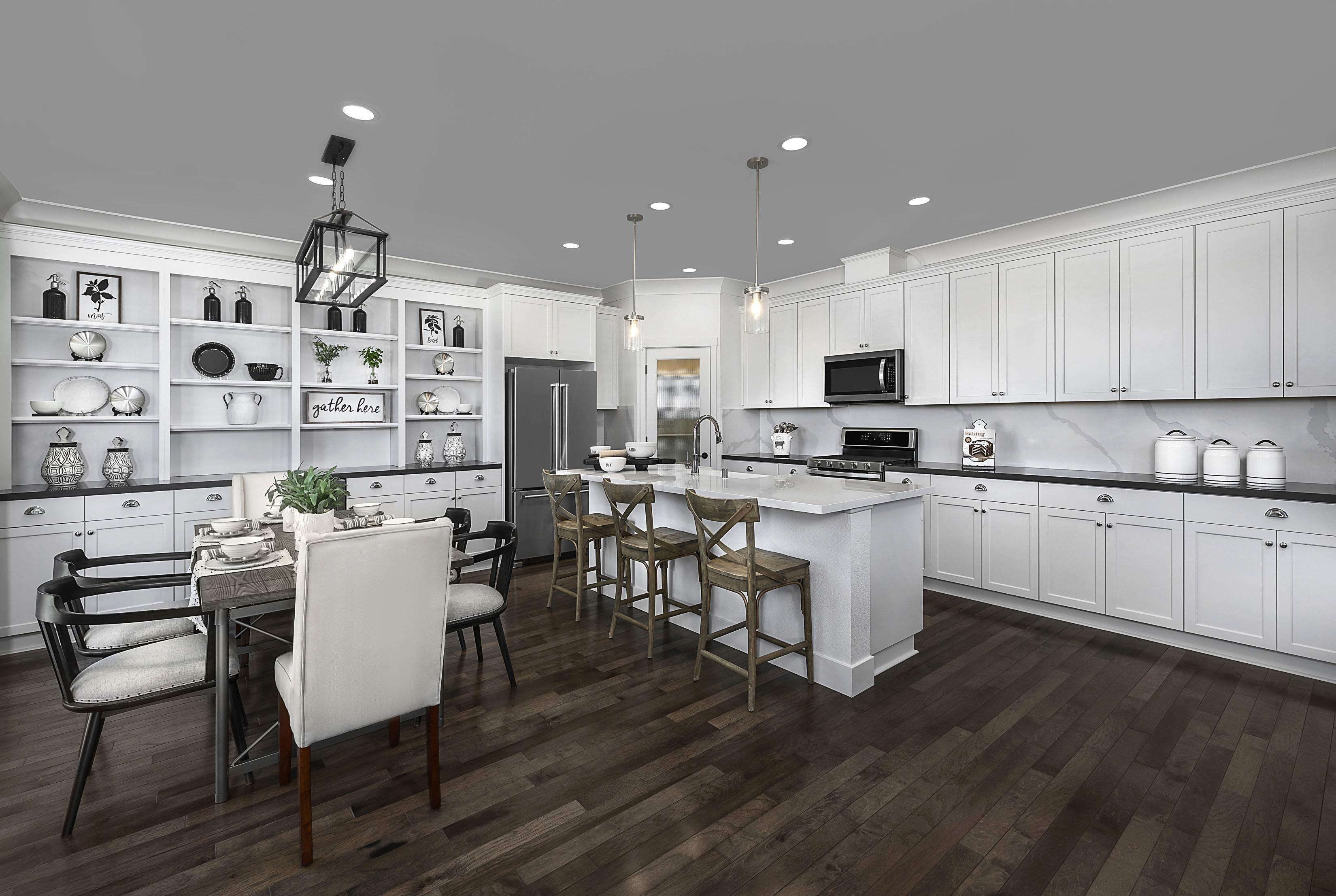 Kitchen featured in the Carousel Residence 3 By Kiper Homes in Santa Cruz, CA