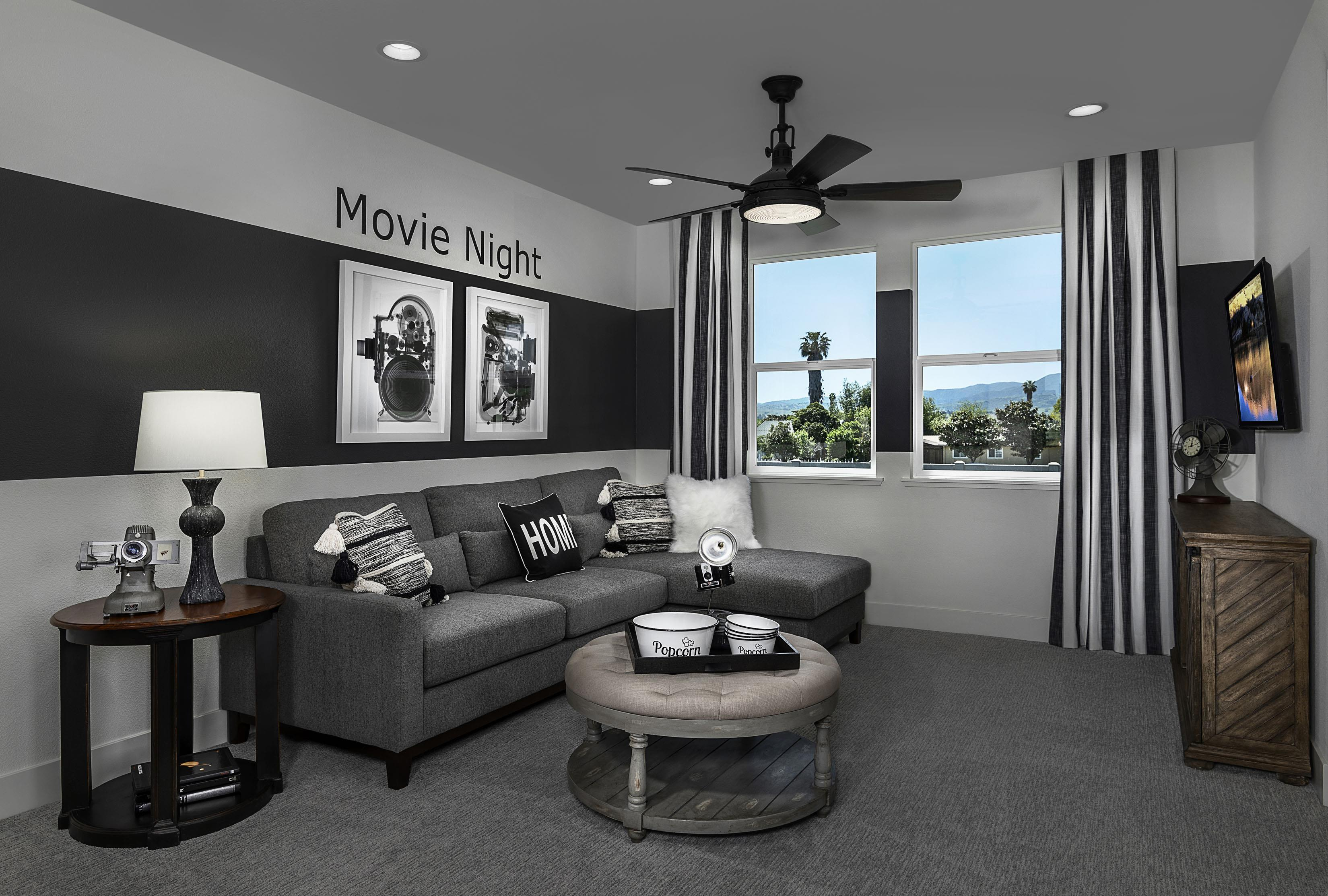 Living Area featured in the Carousel Residence 3 By Kiper Homes in Santa Cruz, CA