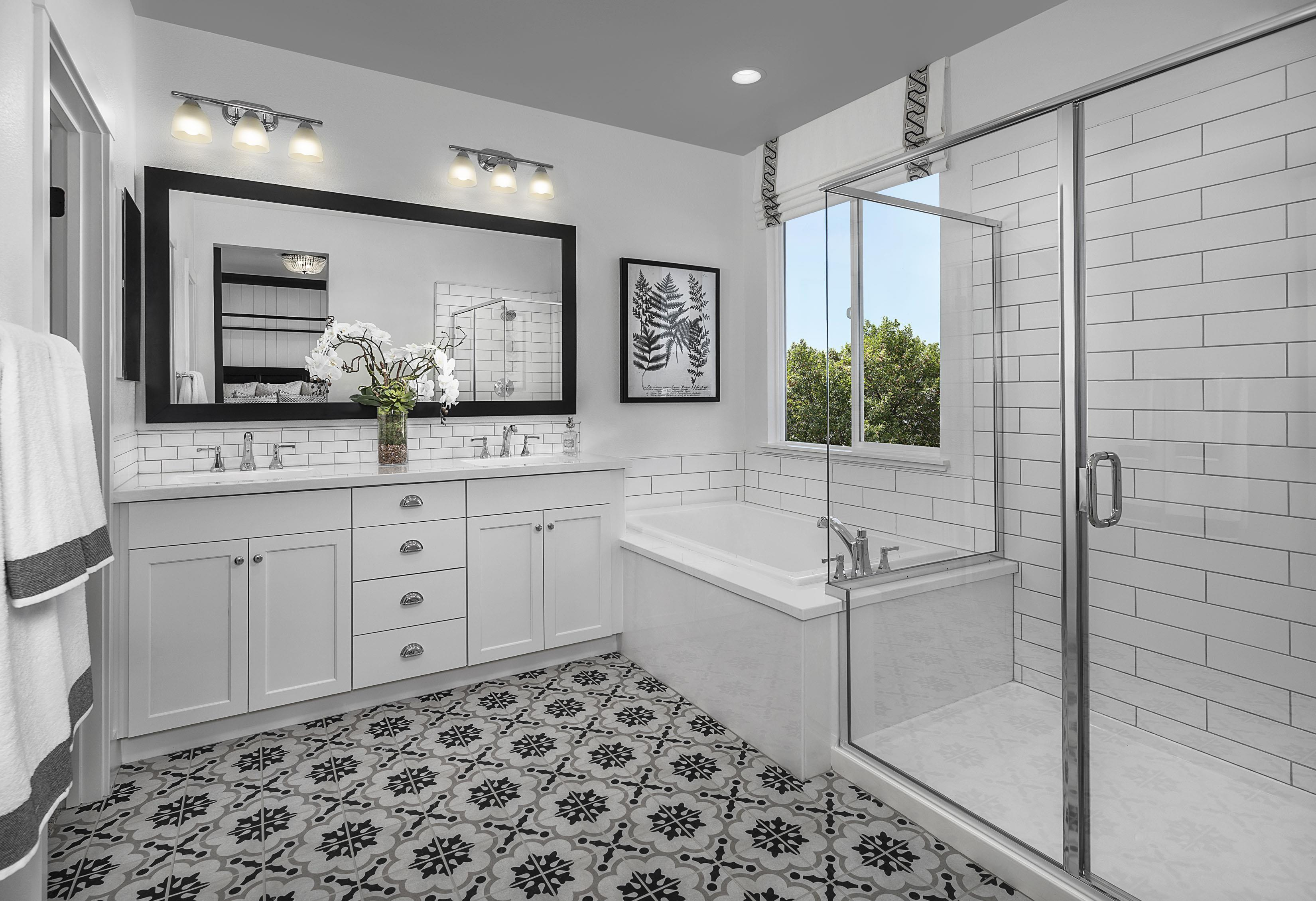 Bathroom featured in the Carousel Residence 3 By Kiper Homes in Santa Cruz, CA