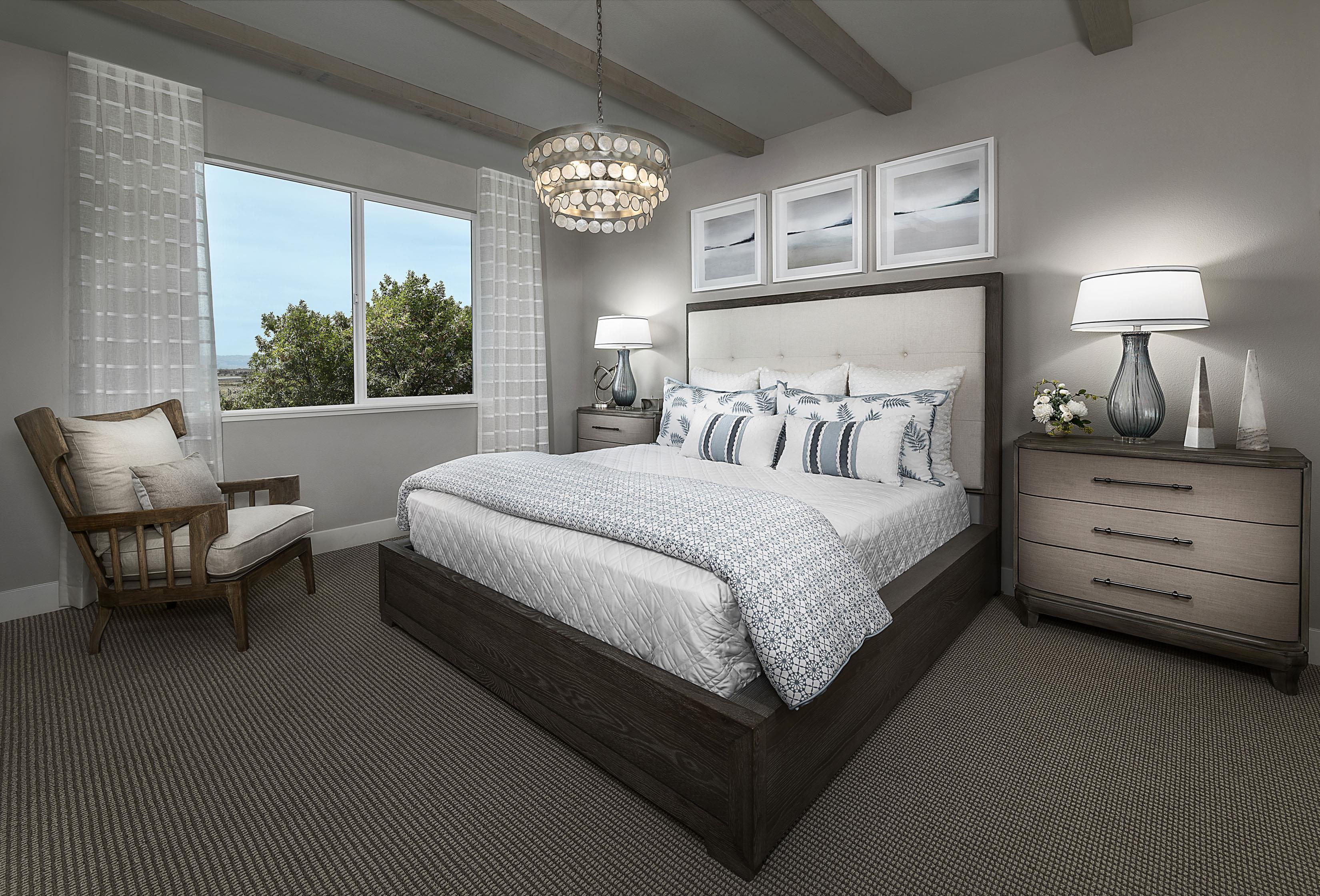 Bedroom featured in the Carousel Residence 1 By Kiper Homes in Santa Cruz, CA