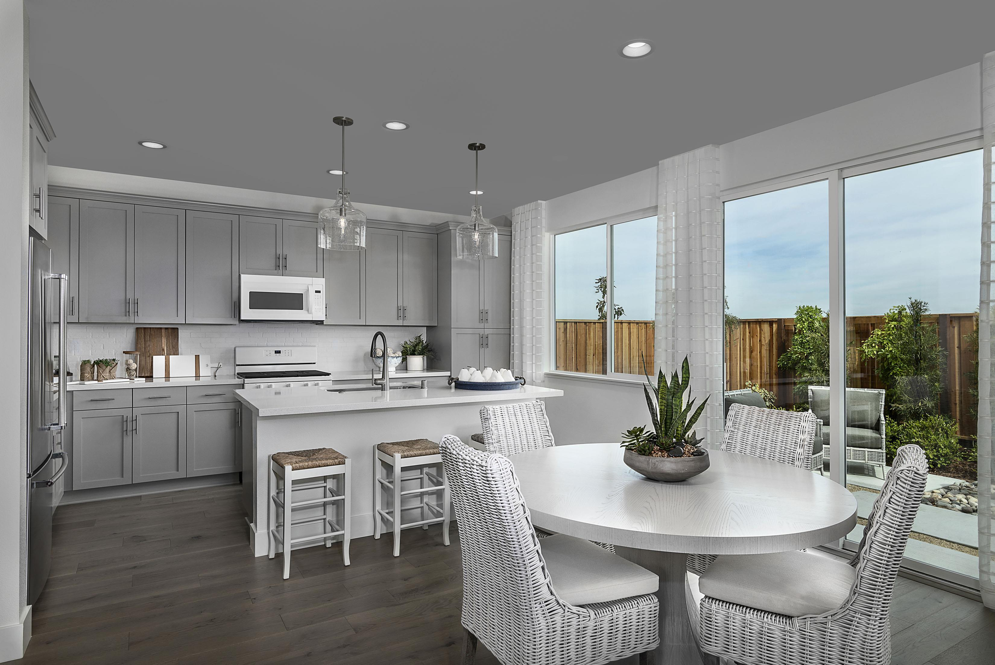 Kitchen featured in the Carousel Residence 1 By Kiper Homes in Santa Cruz, CA
