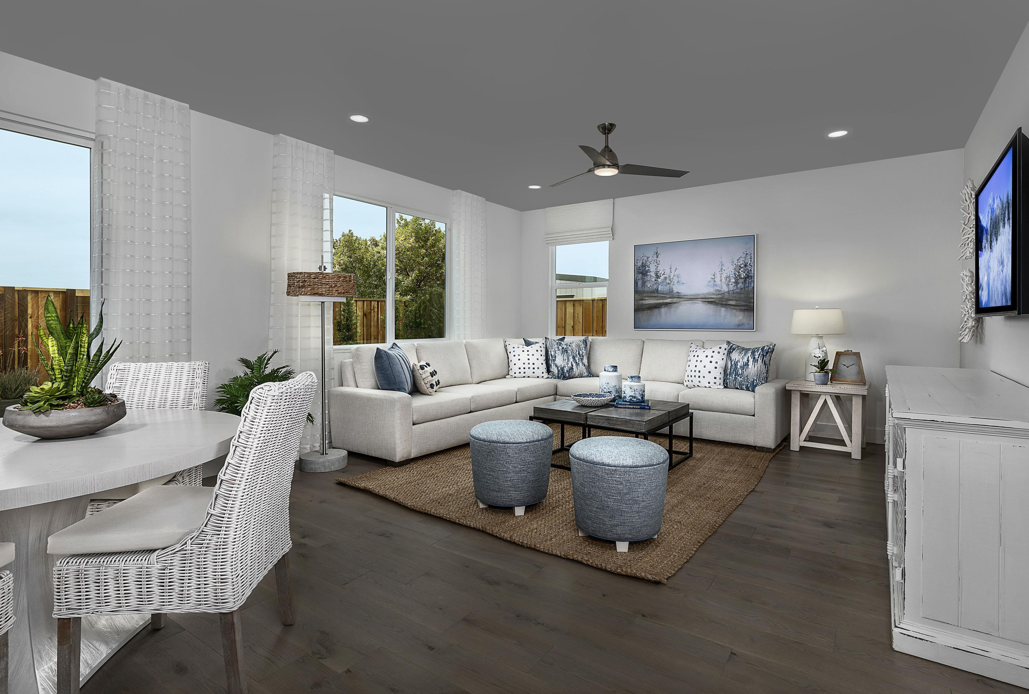 Living Area featured in the Carousel Residence 1 By Kiper Homes in Santa Cruz, CA
