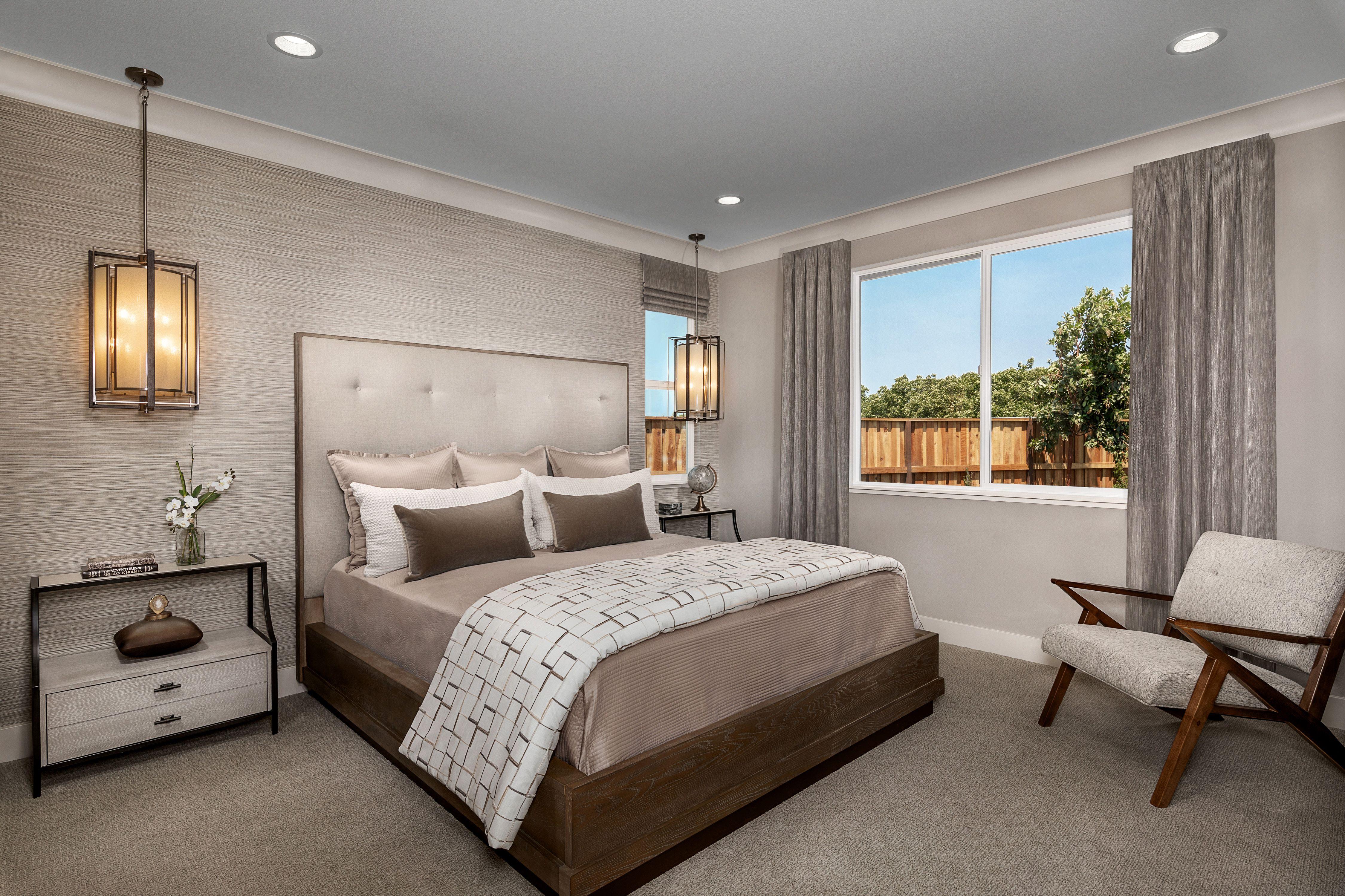 Bedroom featured in the Mayfair Residence 1 By Kiper Homes in Santa Cruz, CA