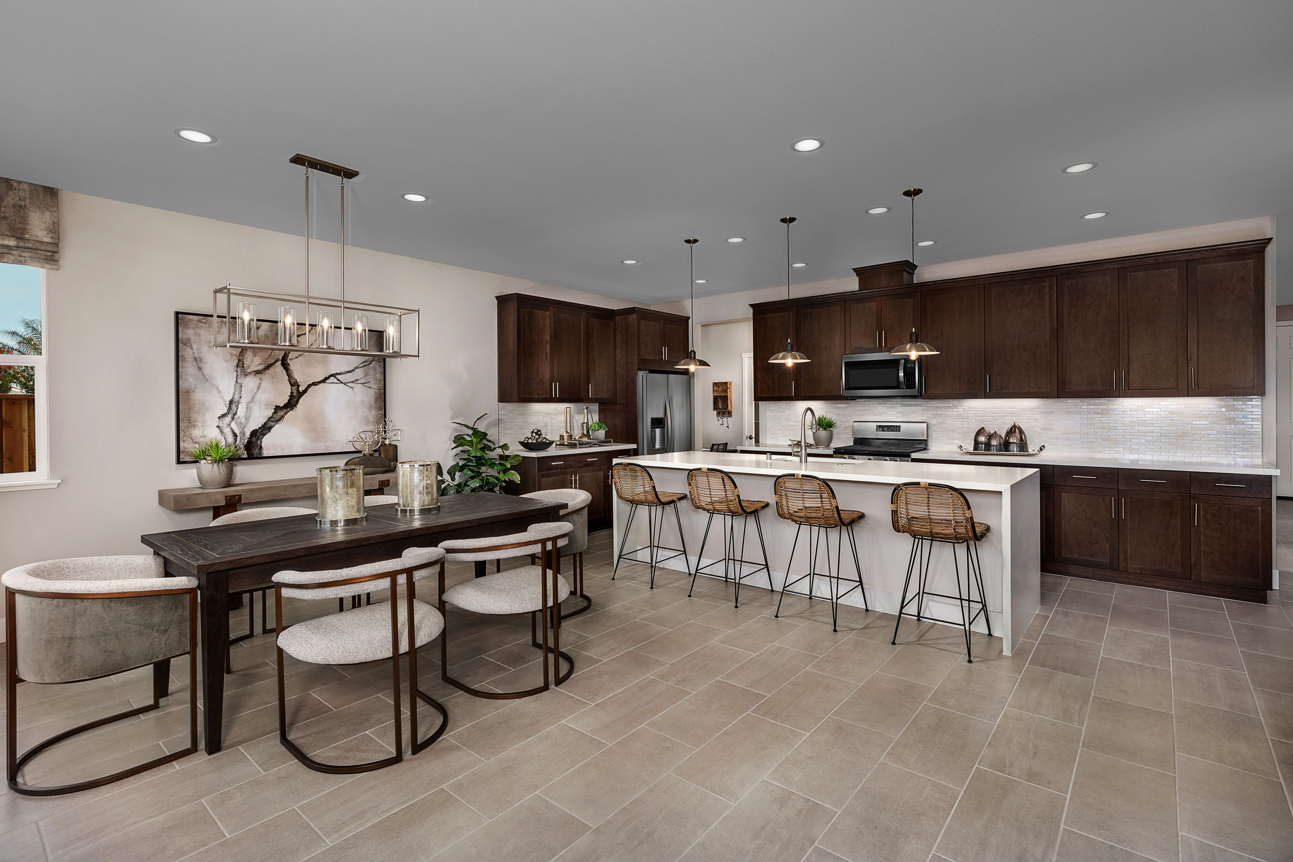 Kitchen featured in the Mayfair Residence 1 By Kiper Homes in Santa Cruz, CA