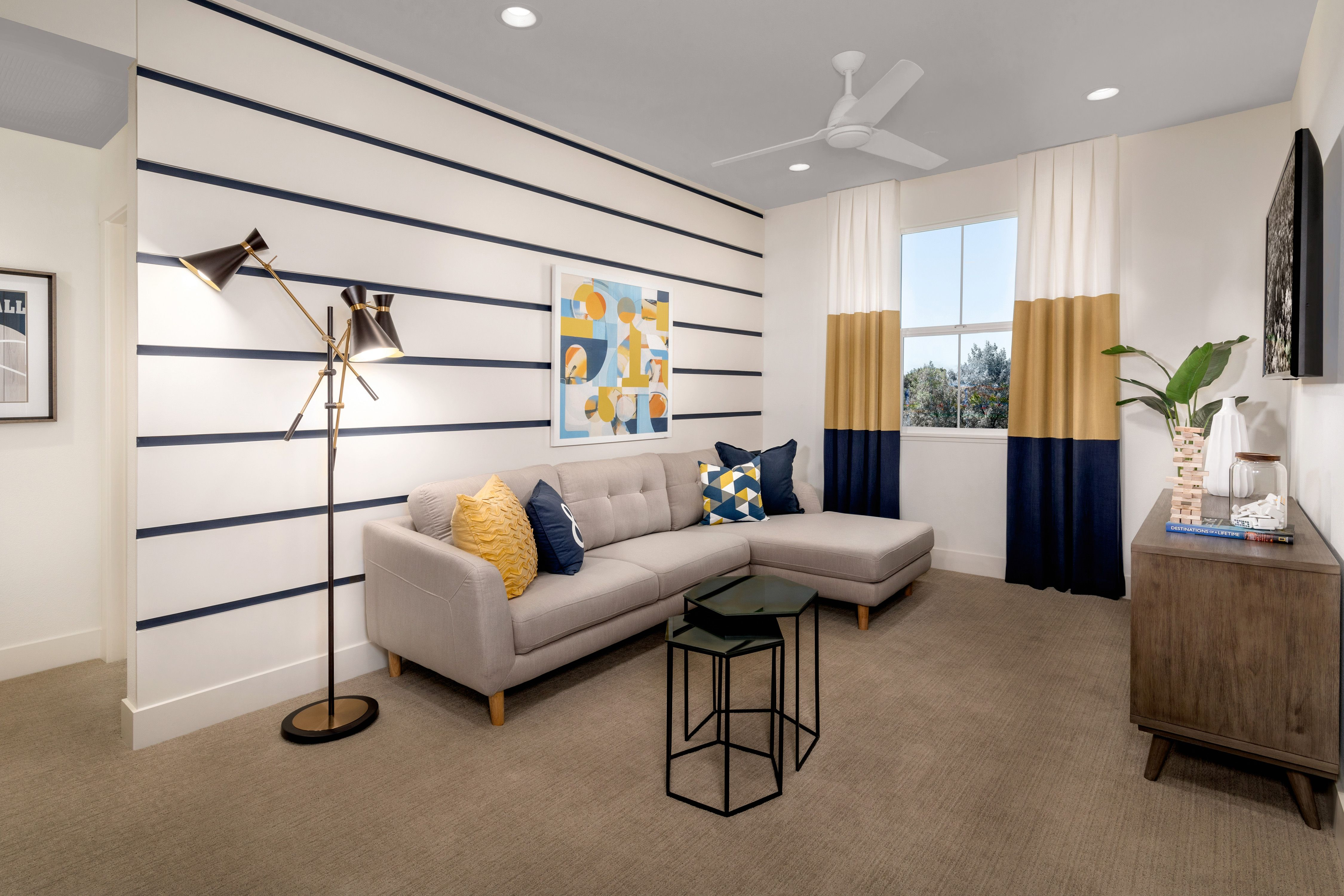 Living Area featured in the Mayfair Residence 2 By Kiper Homes in Santa Cruz, CA
