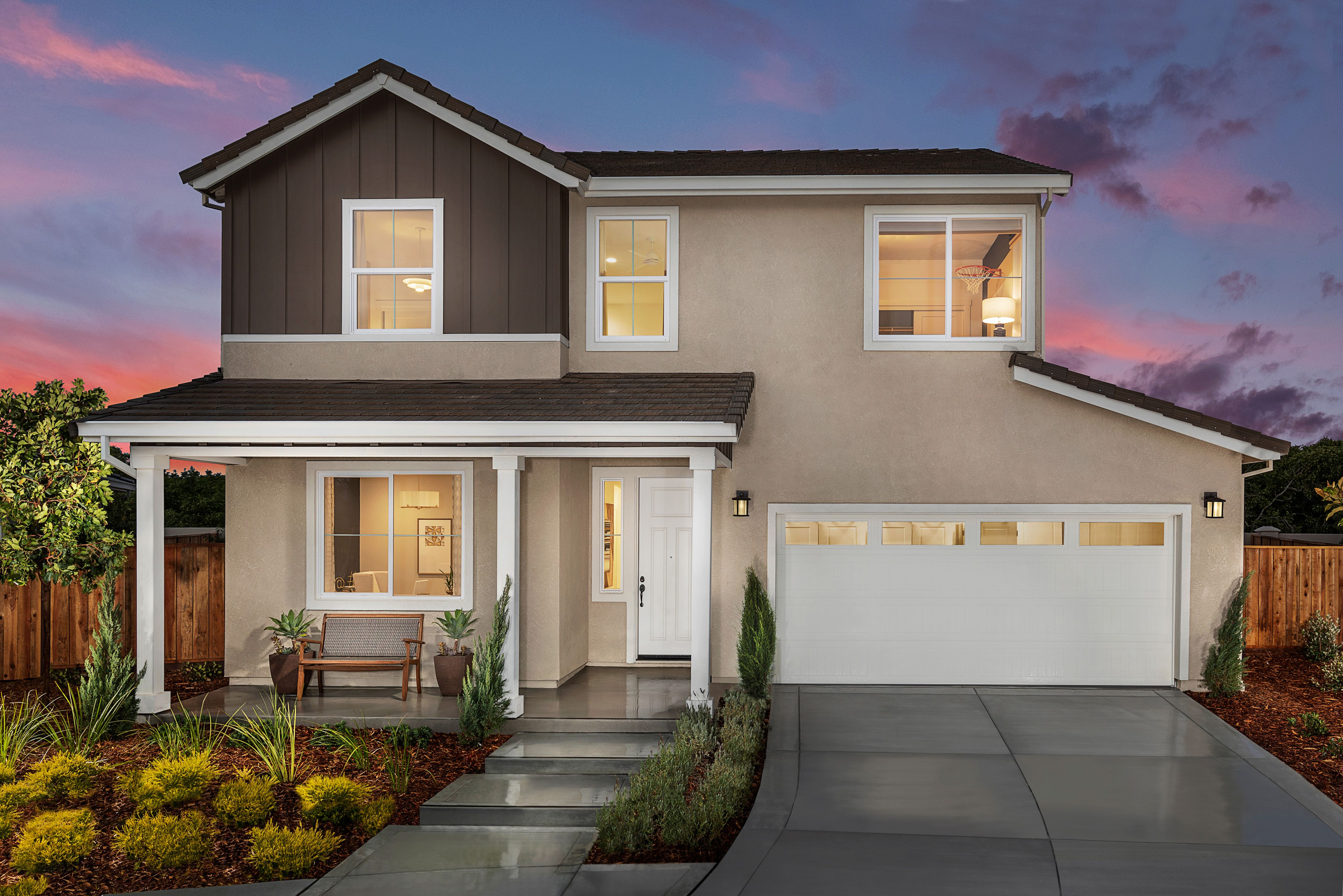 Exterior featured in the Mayfair Residence 2 By Kiper Homes in Santa Cruz, CA