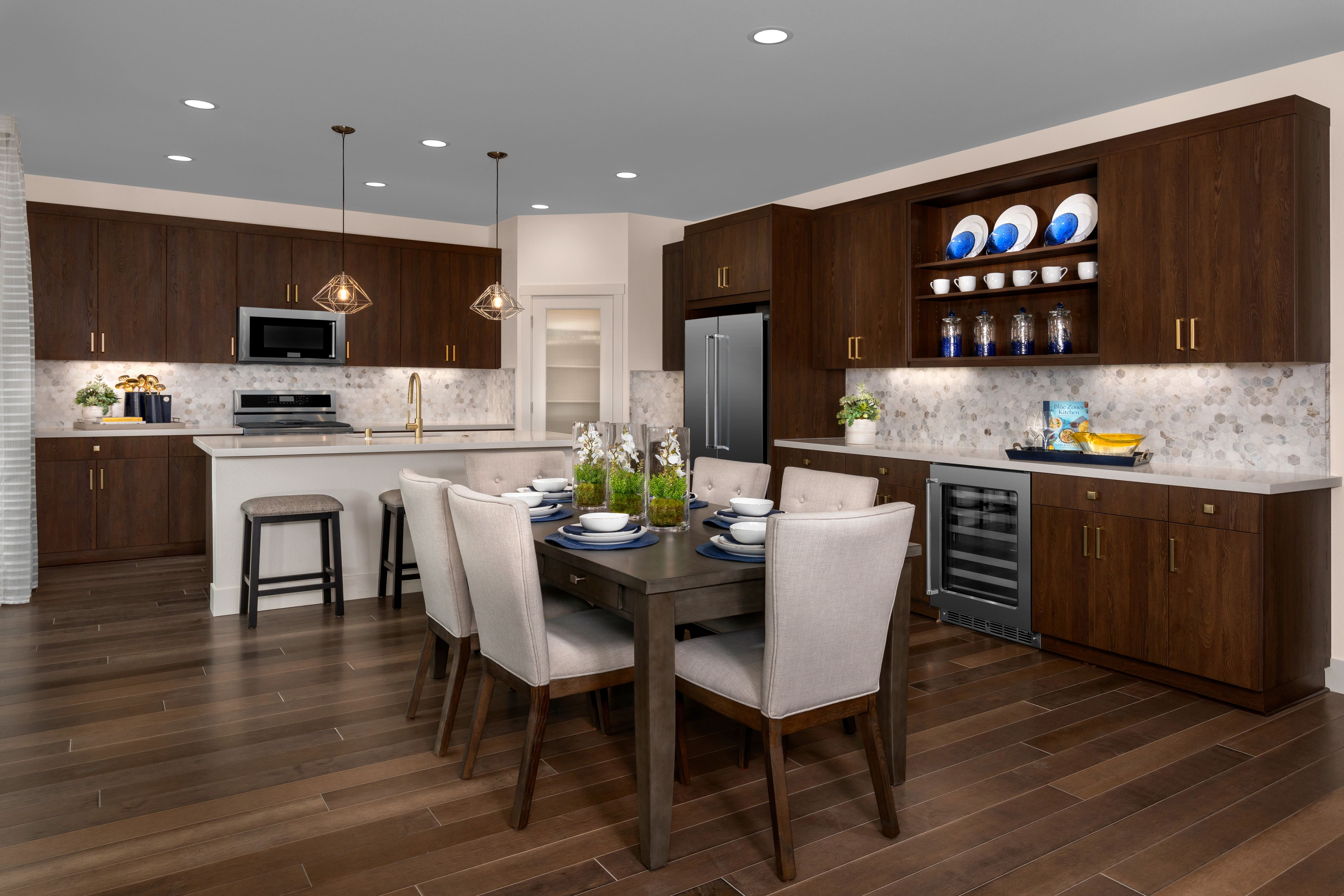 Kitchen featured in the Mayfair Residence 2 By Kiper Homes in Santa Cruz, CA
