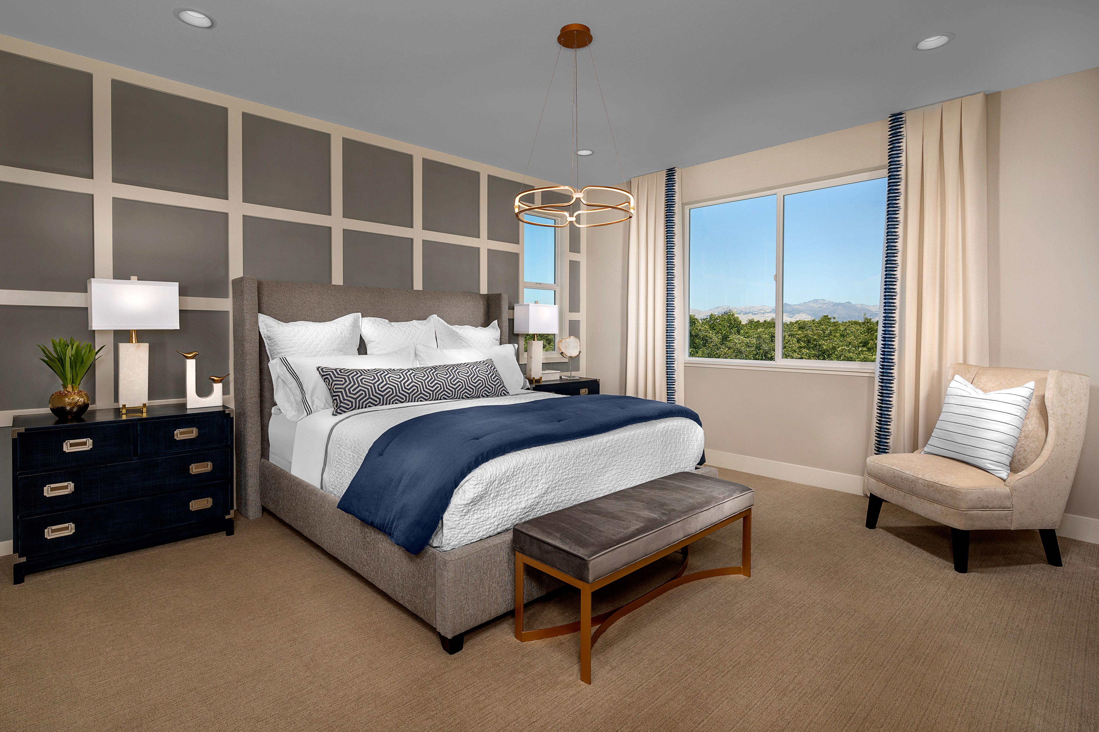 Bedroom featured in the Mayfair Residence 2 By Kiper Homes in Santa Cruz, CA