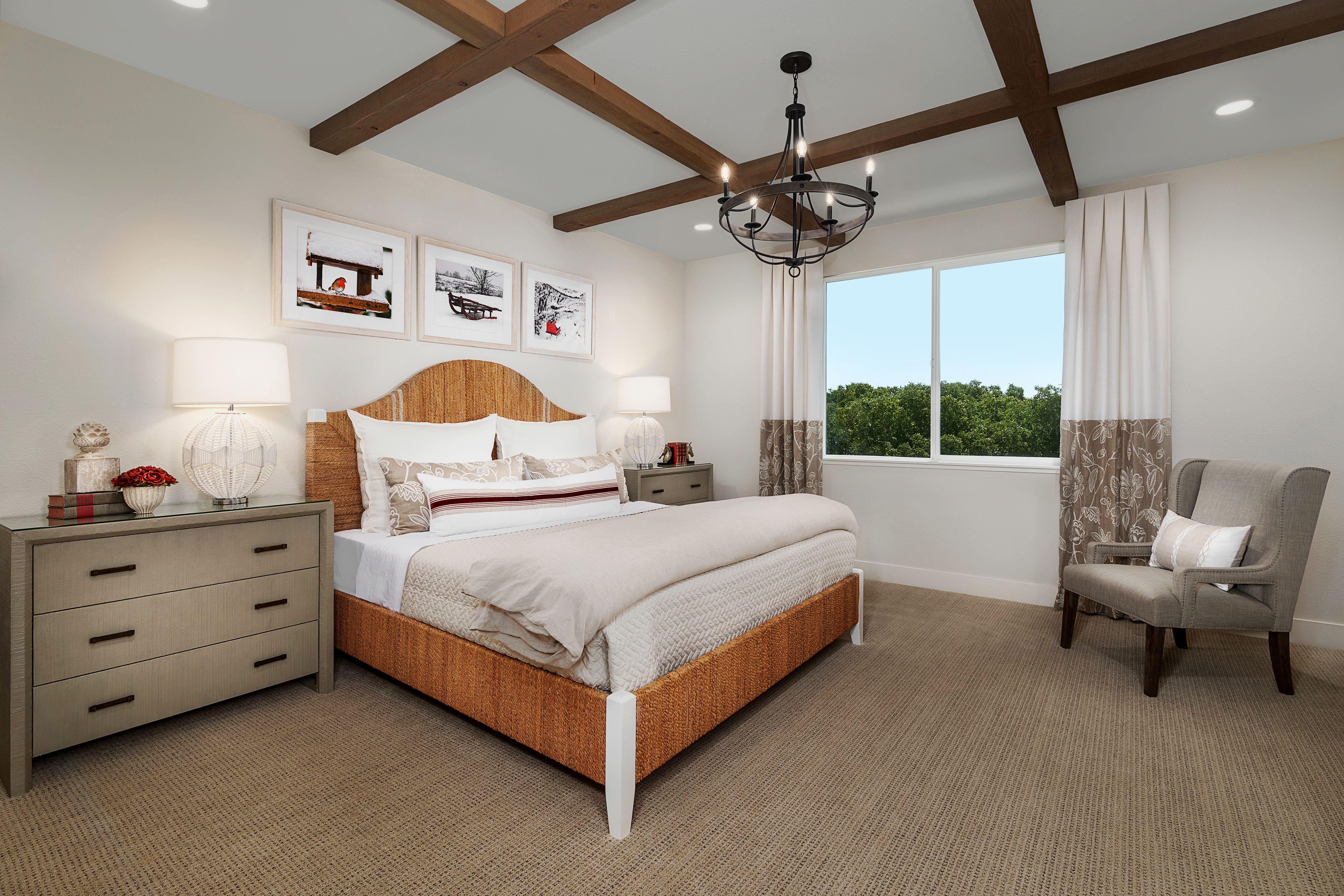 Bedroom featured in the Mayfair Residence 3 By Kiper Homes in Santa Cruz, CA